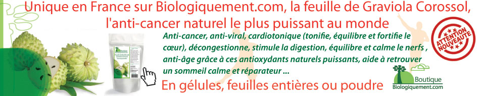 Corossol Graviola anti-cancer naturel