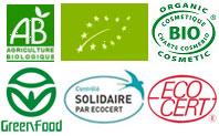 Biologiquement est certifié biologique par Ecocert