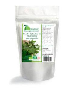 Gélules de poudre de Moringa produite par Biologiquement