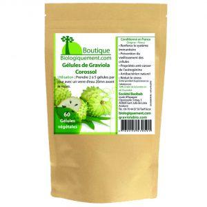 Gélules de poudre de fruit de graviola corossol anticancer