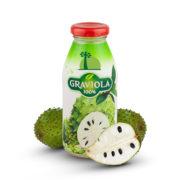 Bouteille de jus 100% pur fruit de graviola corossol Biologiquement