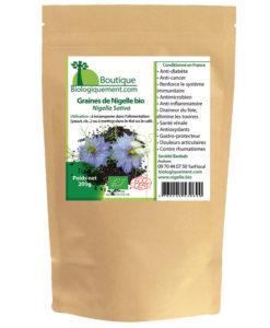La graines de nigelle bio plante pour le traitement anti cancer naturel - Combien de graines de nigelle par jour ...
