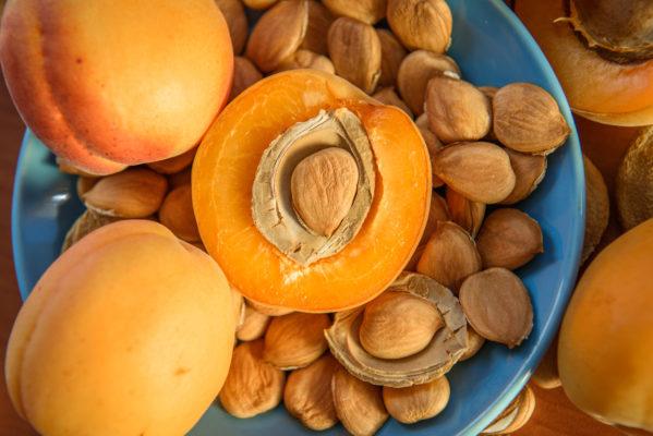 Les amandes amères d'abricot bio, contiennent de la vitamine B-17 anti cancer, les amandes douces en sont dépourvus