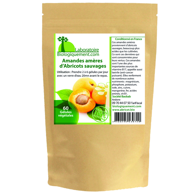 Les amandes amères d'abricots sont l'une des plus importantes sources de vitamine B17, appelée aussi laetrile ou Amygdaline, un anti-cancer naturel puissant