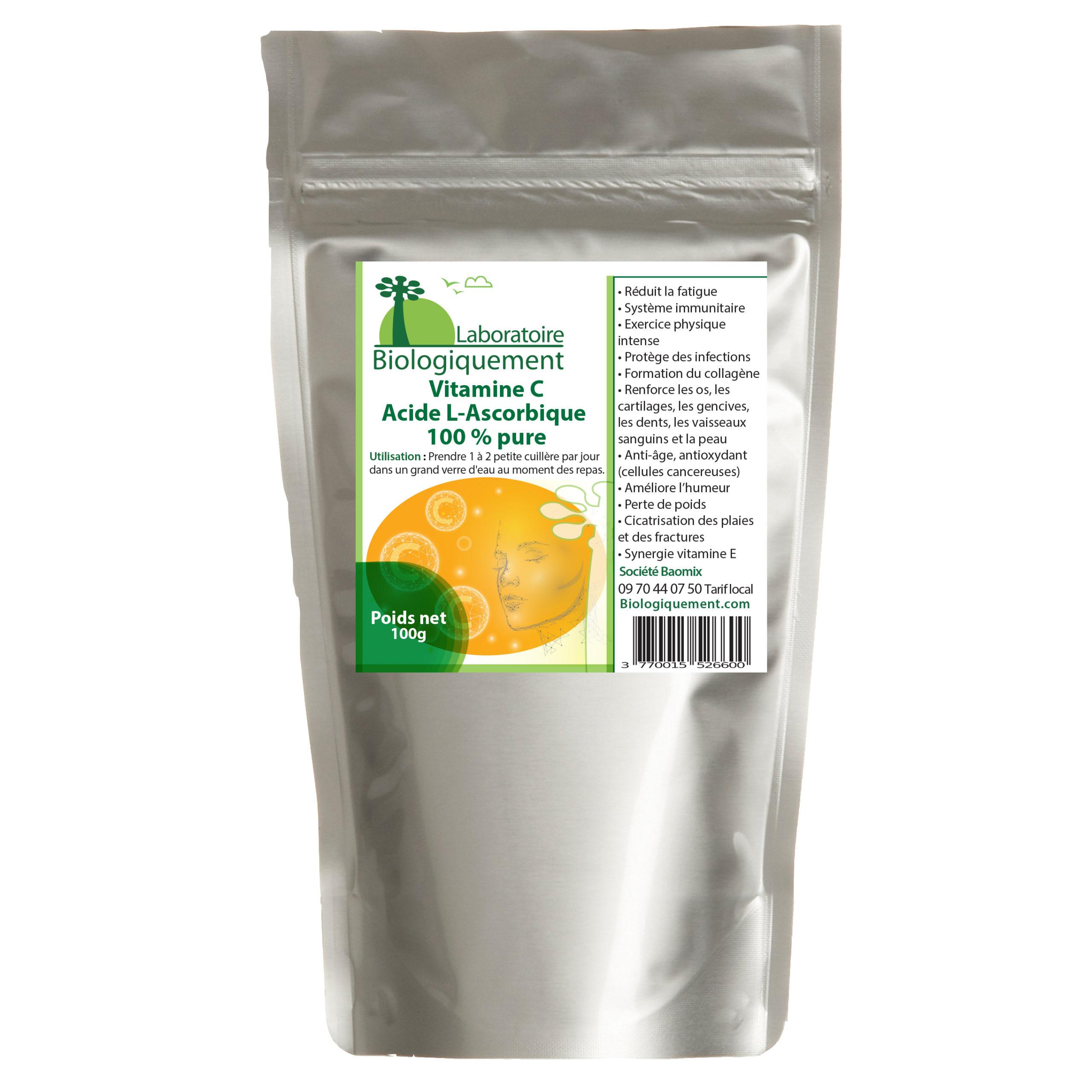 La vitamine C agit comme un antioxydant, indispensable au renforcement du système immunitaire et à la lutte contre le stress des radicaux libres.
